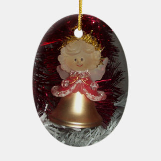 Angel Oval Ornament