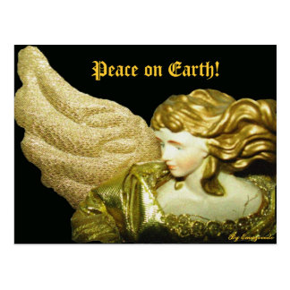 angel Peace on Earth By Emazevedo Post Card