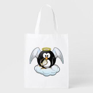 Angel Penguin on A Cloud