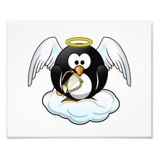 Angel Penguin on A Cloud Photograph