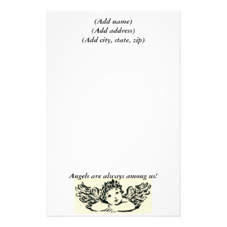 Angel Personalized Stationary Stationery