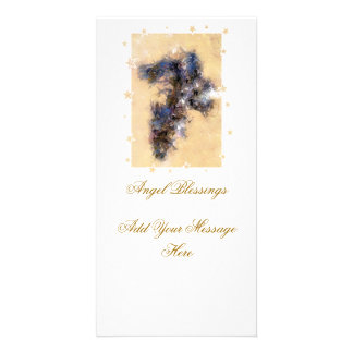 ANGEL PHOTO GREETING CARD