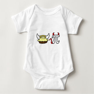 Angel Pie and Devil Pi Baby Bodysuit