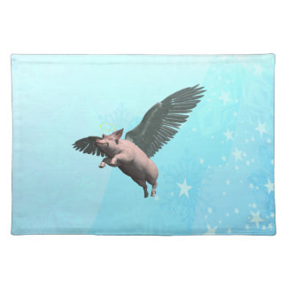 Angel Pig Placemats