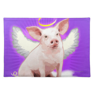 Angel Pig Placemat