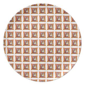 Angel Pillows tile pattern plate
