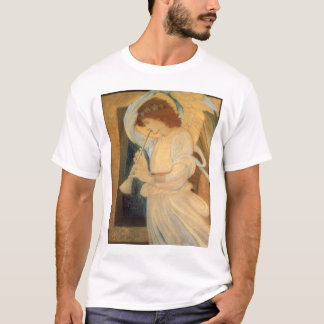 Angel Playing Flageolet By Burne Jones T-Shirt