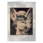 Angel Polaroid Transfer Card