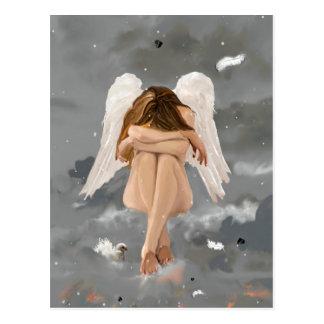 Angel, postcard