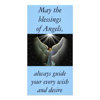 Angel Power Photo card Bookmark