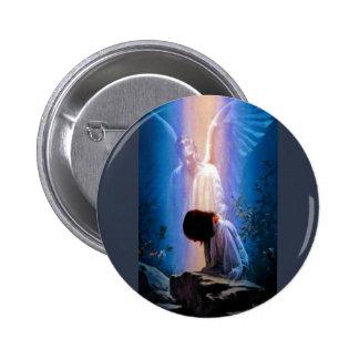 Angel Prayer 6 Cm Round Badge