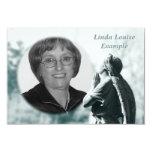 angel prayer memorial card personalized announcement