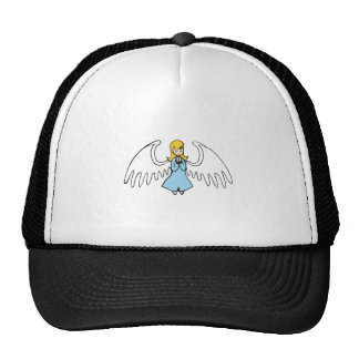 ANGEL PRAYING TRUCKER HATS
