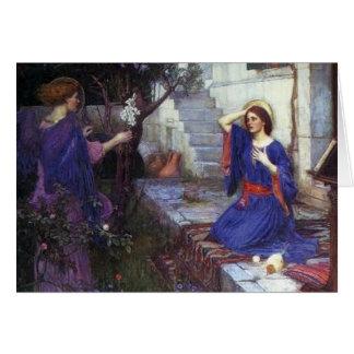 Angel Pre-Raphaelite Christmas Card