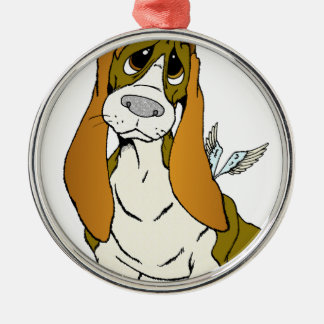 Angel Puppy Christmas Ornaments
