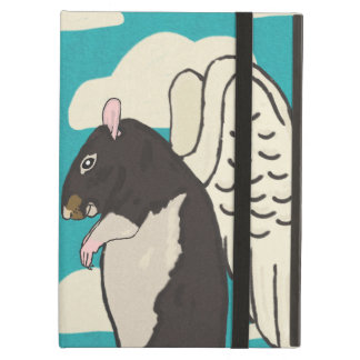 Angel rat iPad case