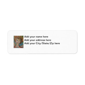 Angel Return Address Labels by ValAries