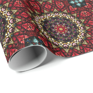 Angel Robes Kaleidoscope Art Pattern Giftwrap Wrapping Paper