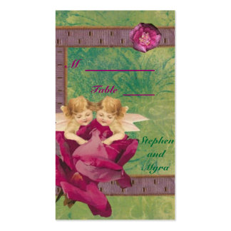 Angel Rose Place Card Pack Of Standard Business Cards