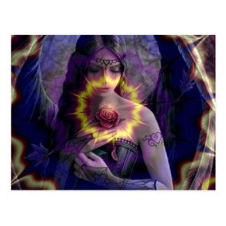 Angel Rose Postcards