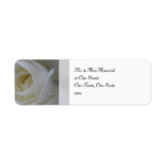 Angel Rose Wedding Return Address Label