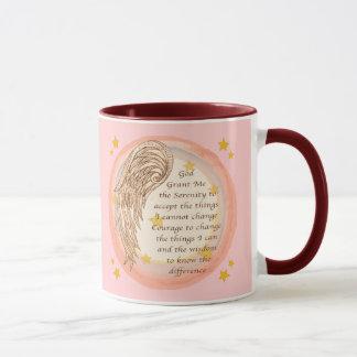 Angel Serenity Prayer Mug