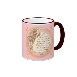 Angel Serenity Prayer Coffee Mug