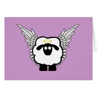 Angel Sheep Card