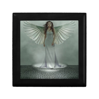 Angel Small Square Gift Box