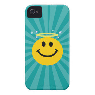 Angel Smiley face iPhone 4 Case-Mate Cases