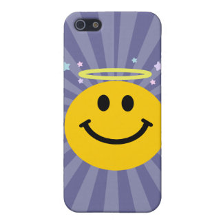 Angel Smiley face iPhone 5 Case