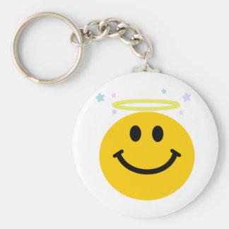 Angel Smiley Key Ring