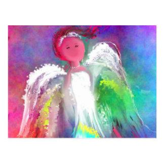 Angel Sparkle Post Card