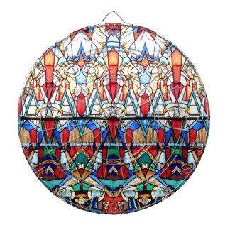 Angel Stained Glass Dartboard