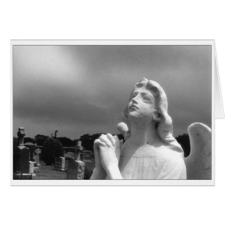 """""""Angel Standing By"""" Greeting Card"""