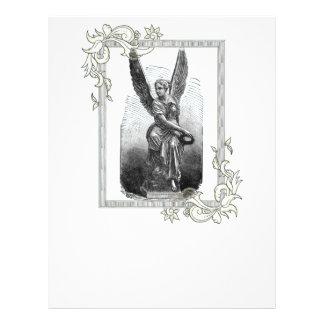 Angel Statue 21.5 Cm X 28 Cm Flyer