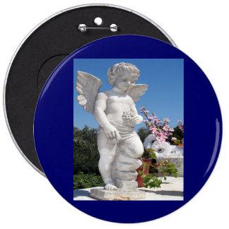 Angel Statue Button