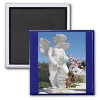 Angel Statue Fridge Magnet
