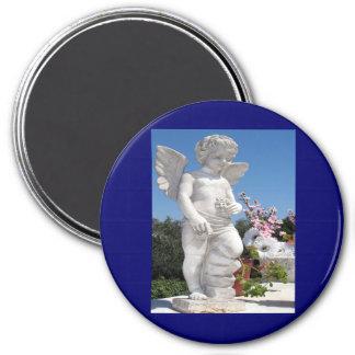 Angel Statue Fridge Magnets