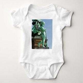 Angel statue in Berlin, Germany Baby Bodysuit
