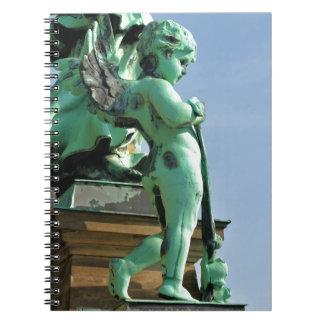 Angel statue in Berlin, Germany Notebook