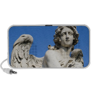 Angel statue, Ponte Sant'Angelo, Rome, Italy iPod Speaker