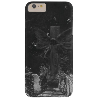 Angel Statue Victorian Cemetery Postcard Barely There iPhone 6 Plus Case