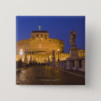 Angel statues on the Ponte Sant'Angelo with the 15 Cm Square Badge