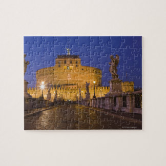 Angel statues on the Ponte Sant'Angelo with the Jigsaw Puzzle