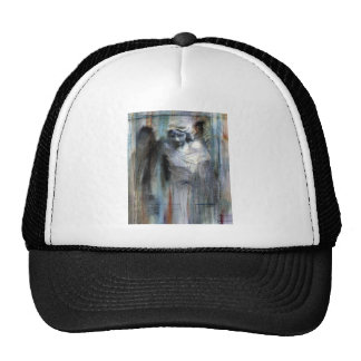 Angel study 11 mesh hats