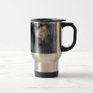 Angel study 11 stainless steel travel mug