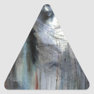 Angel study 11 triangle sticker