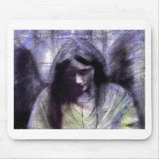 Angel study 19 second version mouse pad