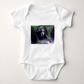 Angel study 7b baby bodysuit